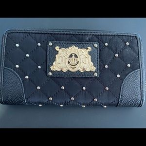 Juicy couture studded wallet